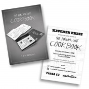 Parlour Cafe Cookbook invite