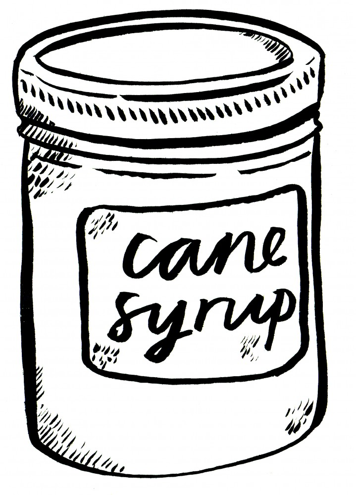 cane syrup - black
