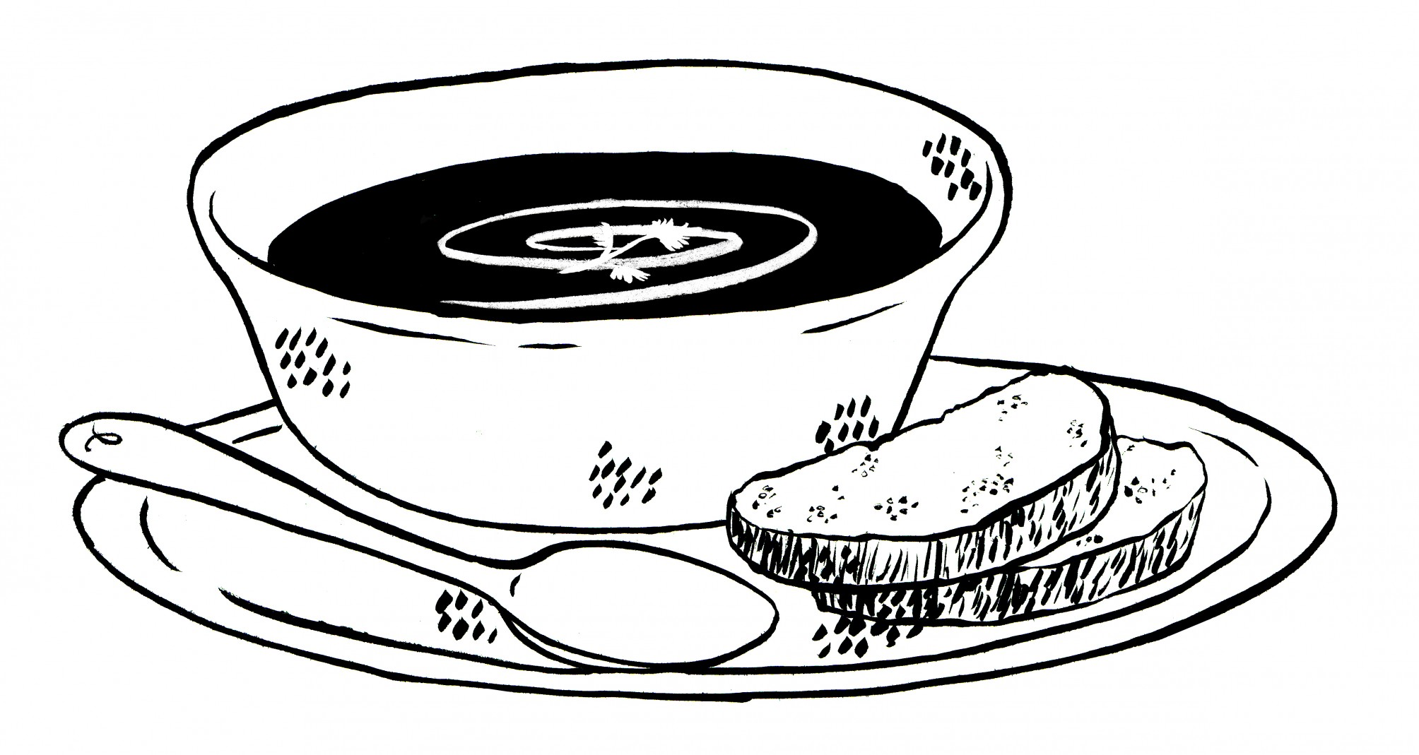 Soup Drawing Digital s...