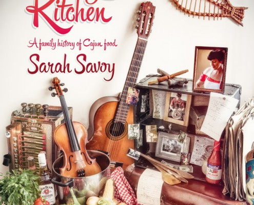 The Savoy Kitchen front cover book artwork