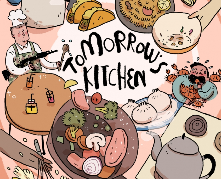 Tomorrow's Kitchen Cover