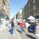 Street view of Brick Lane Market