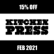 15% off all books in Feb 2021