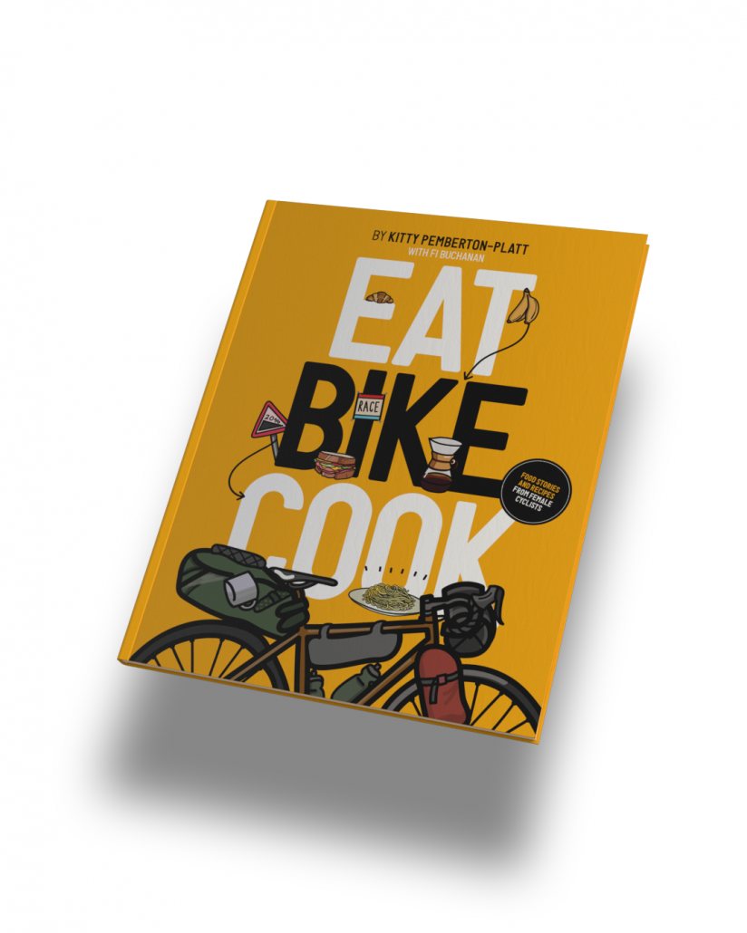 Eat Bike Cook Book Cover Image